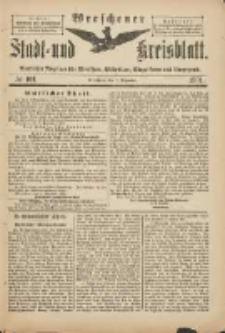 Wreschener Stadt und Kreisblatt: amtlicher Anzeiger für Wreschen, Miloslaw, Strzalkowo und Umgegend 1901.12.07 Nr101