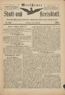 Wreschener Stadt und Kreisblatt: amtlicher Anzeiger für Wreschen, Miloslaw, Strzalkowo und Umgegend 1901.12.14 Nr103