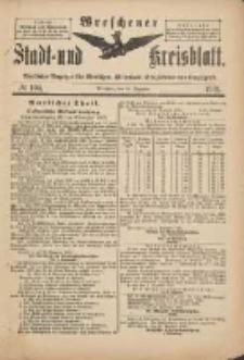 Wreschener Stadt und Kreisblatt: amtlicher Anzeiger für Wreschen, Miloslaw, Strzalkowo und Umgegend 1901.12.18 Nr104