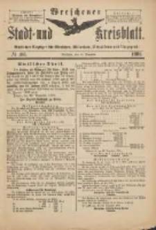 Wreschener Stadt und Kreisblatt: amtlicher Anzeiger für Wreschen, Miloslaw, Strzalkowo und Umgegend 1901.12.25 Nr106
