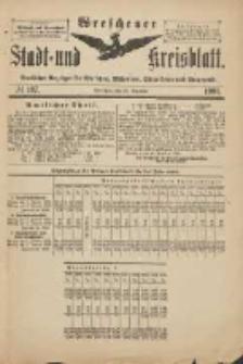 Wreschener Stadt und Kreisblatt: amtlicher Anzeiger für Wreschen, Miloslaw, Strzalkowo und Umgegend 1901.12.28 Nr107
