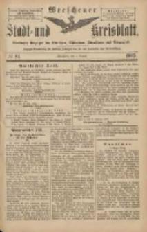 Wreschener Stadt und Kreisblatt: amtlicher Anzeiger für Wreschen, Miloslaw, Strzalkowo und Umgegend 1903.08.04 Nr94