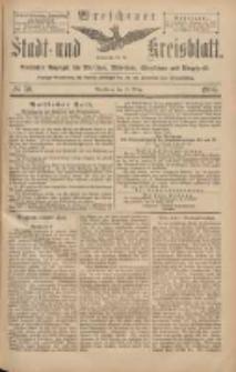 Wreschener Stadt und Kreisblatt: amtlicher Anzeiger für Wreschen, Miloslaw, Strzalkowo und Umgegend 1904.03.12 Nr30