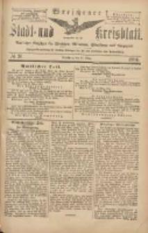 Wreschener Stadt und Kreisblatt: amtlicher Anzeiger für Wreschen, Miloslaw, Strzalkowo und Umgegend 1904.03.26 Nr36