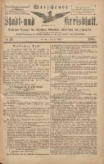 Wreschener Stadt und Kreisblatt: amtlicher Anzeiger für Wreschen, Miloslaw, Strzalkowo und Umgegend 1904.03.29 Nr37