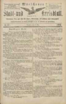 Wreschener Stadt und Kreisblatt: amtlicher Anzeiger für Wreschen, Miloslaw, Strzalkowo und Umgegend 1904.05.17 Nr57