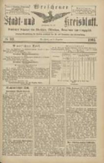 Wreschener Stadt und Kreisblatt: amtlicher Anzeiger für Wreschen, Miloslaw, Strzalkowo und Umgegend 1904.12.03 Nr141