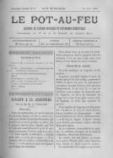 Le Pot-au-feu: journal de cuisine pratique et d'economie domestique. 1894 An.2 No.16
