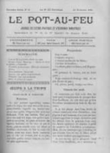 Le Pot-au-feu: journal de cuisine pratique et d'economie domestique. 1894 An.2 No.22