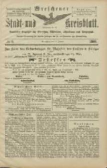 Wreschener Stadt und Kreisblatt: amtlicher Anzeiger für Wreschen, Miloslaw, Strzalkowo und Umgegend 1906.01.16 Nr6