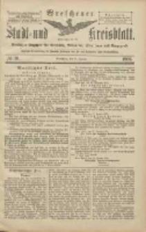 Wreschener Stadt und Kreisblatt: amtlicher Anzeiger für Wreschen, Miloslaw, Strzalkowo und Umgegend 1906.01.25 Nr10