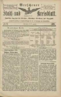 Wreschener Stadt und Kreisblatt: amtlicher Anzeiger für Wreschen, Miloslaw, Strzalkowo und Umgegend 1906.01.27 Nr11