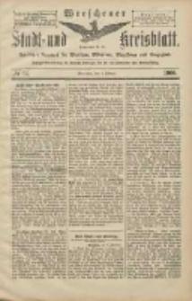 Wreschener Stadt und Kreisblatt: amtlicher Anzeiger für Wreschen, Miloslaw, Strzalkowo und Umgegend 1906.02.03 Nr14