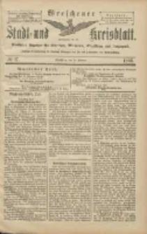 Wreschener Stadt und Kreisblatt: amtlicher Anzeiger für Wreschen, Miloslaw, Strzalkowo und Umgegend 1906.02.10 Nr17