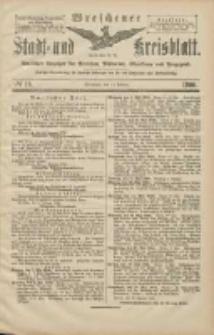 Wreschener Stadt und Kreisblatt: amtlicher Anzeiger für Wreschen, Miloslaw, Strzalkowo und Umgegend 1906.02.13 Nr18