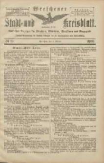 Wreschener Stadt und Kreisblatt: amtlicher Anzeiger für Wreschen, Miloslaw, Strzalkowo und Umgegend 1906.02.15 Nr19