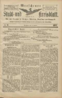 Wreschener Stadt und Kreisblatt: amtlicher Anzeiger für Wreschen, Miloslaw, Strzalkowo und Umgegend 1906.02.20 Nr21