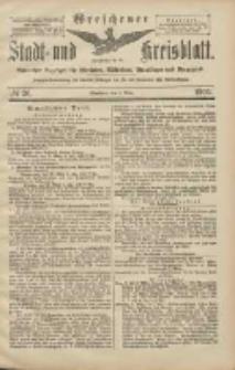 Wreschener Stadt und Kreisblatt: amtlicher Anzeiger für Wreschen, Miloslaw, Strzalkowo und Umgegend 1906.03.03 Nr26