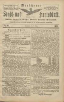 Wreschener Stadt und Kreisblatt: amtlicher Anzeiger für Wreschen, Miloslaw, Strzalkowo und Umgegend 1906.03.13 Nr30