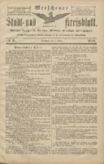 Wreschener Stadt und Kreisblatt: amtlicher Anzeiger für Wreschen, Miloslaw, Strzalkowo und Umgegend 1906.03.15 Nr31