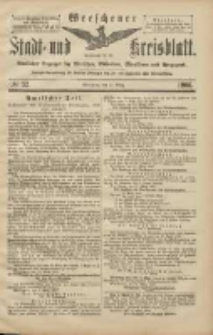 Wreschener Stadt und Kreisblatt: amtlicher Anzeiger für Wreschen, Miloslaw, Strzalkowo und Umgegend 1906.03.17 Nr32