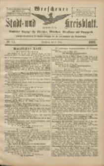 Wreschener Stadt und Kreisblatt: amtlicher Anzeiger für Wreschen, Miloslaw, Strzalkowo und Umgegend 1906.03.20 Nr33
