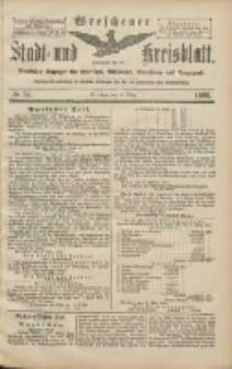 Wreschener Stadt und Kreisblatt: amtlicher Anzeiger für Wreschen, Miloslaw, Strzalkowo und Umgegend 1906.03.22 Nr34
