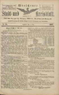 Wreschener Stadt und Kreisblatt: amtlicher Anzeiger für Wreschen, Miloslaw, Strzalkowo und Umgegend 1906.03.24 Nr35