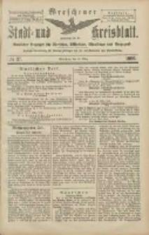 Wreschener Stadt und Kreisblatt: amtlicher Anzeiger für Wreschen, Miloslaw, Strzalkowo und Umgegend 1906.03.29 Nr37