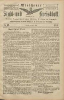 Wreschener Stadt und Kreisblatt: amtlicher Anzeiger für Wreschen, Miloslaw, Strzalkowo und Umgegend 1906.04.03 Nr39