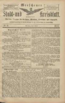 Wreschener Stadt und Kreisblatt: amtlicher Anzeiger für Wreschen, Miloslaw, Strzalkowo und Umgegend 1906.04.07 Nr41