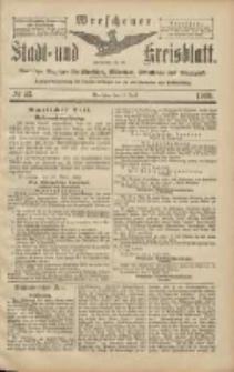 Wreschener Stadt und Kreisblatt: amtlicher Anzeiger für Wreschen, Miloslaw, Strzalkowo und Umgegend 1906.04.12 Nr43
