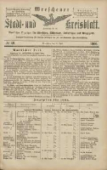 Wreschener Stadt und Kreisblatt: amtlicher Anzeiger für Wreschen, Miloslaw, Strzalkowo und Umgegend 1906.04.21 Nr46