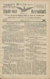 Wreschener Stadt und Kreisblatt: amtlicher Anzeiger für Wreschen, Miloslaw, Strzalkowo und Umgegend 1906.05.03 Nr51