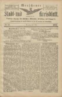 Wreschener Stadt und Kreisblatt: amtlicher Anzeiger für Wreschen, Miloslaw, Strzalkowo und Umgegend 1906.05.05 Nr52