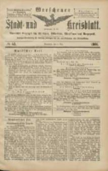Wreschener Stadt und Kreisblatt: amtlicher Anzeiger für Wreschen, Miloslaw, Strzalkowo und Umgegend 1906.05.08 Nr53