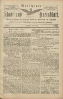 Wreschener Stadt und Kreisblatt: amtlicher Anzeiger für Wreschen, Miloslaw, Strzalkowo und Umgegend 1906.05.10 Nr54
