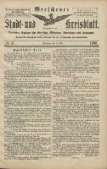 Wreschener Stadt und Kreisblatt: amtlicher Anzeiger für Wreschen, Miloslaw, Strzalkowo und Umgegend 1906.05.17 Nr57