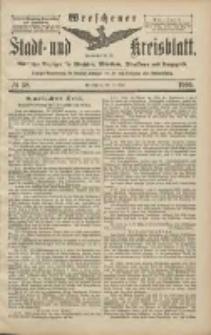 Wreschener Stadt und Kreisblatt: amtlicher Anzeiger für Wreschen, Miloslaw, Strzalkowo und Umgegend 1906.05.19 Nr58