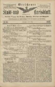 Wreschener Stadt und Kreisblatt: amtlicher Anzeiger für Wreschen, Miloslaw, Strzalkowo und Umgegend 1906.05.31 Nr63