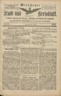 Wreschener Stadt und Kreisblatt: amtlicher Anzeiger für Wreschen, Miloslaw, Strzalkowo und Umgegend 1906.06.09 Nr66