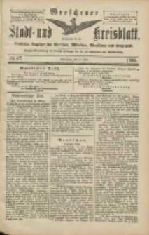 Wreschener Stadt und Kreisblatt: amtlicher Anzeiger für Wreschen, Miloslaw, Strzalkowo und Umgegend 1906.06.12 Nr67