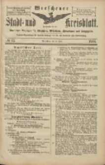 Wreschener Stadt und Kreisblatt: amtlicher Anzeiger für Wreschen, Miloslaw, Strzalkowo und Umgegend 1906.06.23 Nr72