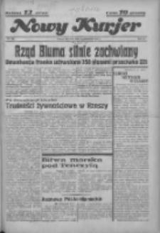 """Nowy Kurjer: dawniej """"Postęp"""" 1936.10.01 R.47 Nr228"""