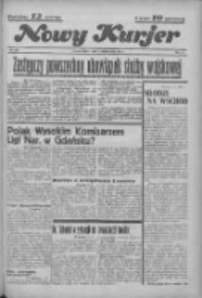 """Nowy Kurjer: dawniej """"Postęp"""" 1936.10.02 R.47 Nr229"""