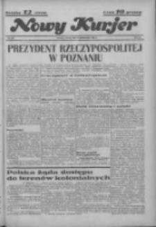 """Nowy Kurjer: dawniej """"Postęp"""" 1936.10.06 R.47 Nr232"""