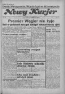 """Nowy Kurjer: dawniej """"Postęp"""" 1936.10.07 R.47 Nr233"""