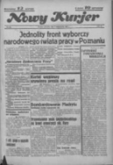 """Nowy Kurjer: dawniej """"Postęp"""" 1936.10.08 R.47 Nr234"""