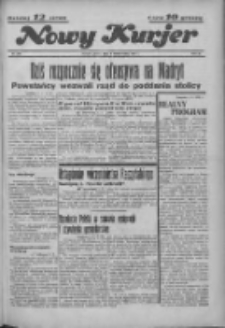 """Nowy Kurjer: dawniej """"Postęp"""" 1936.10.09 R.47 Nr235"""