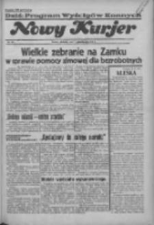 """Nowy Kurjer: dawniej """"Postęp"""" 1936.10.11 R.47 Nr237"""